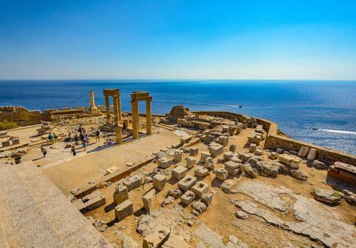 Rhodes en Grèce