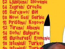 Manu Chao Balkan Tour 2011