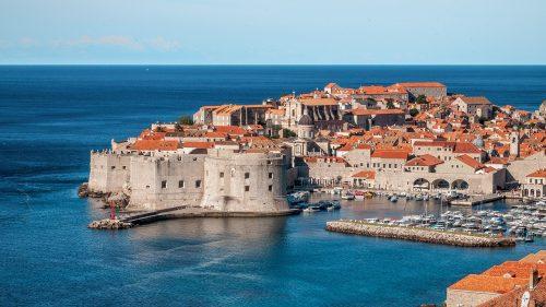 Dubrovnik en Croatie, le meilleur lieu touristique d'Europe du Sud-Est