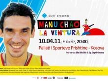 Manu Chao à Pristina (vidéo)