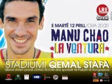 Concert de Manu Chao à Tirana (vidéos)