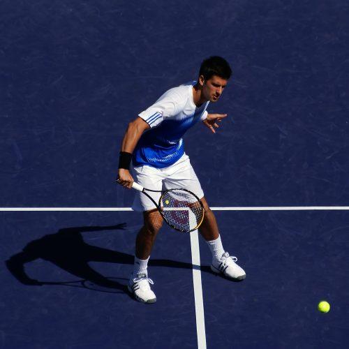 Novak Djokovic, vainqueur du Serbia Open 2011
