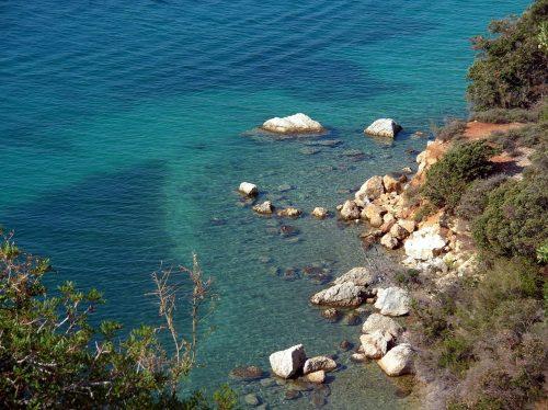 Plage Ciganka sur l'île de Rab en Croatie