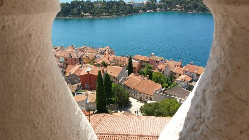 Rovinj en Istrie, Croatie