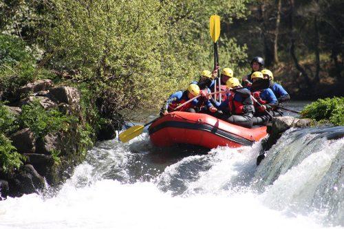 Rafting en Serbie