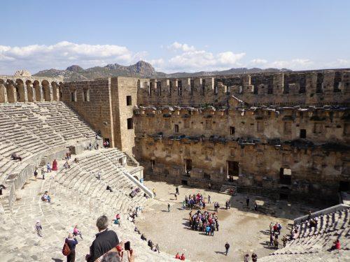 Théâtre romain d'Aspendos près d'Antalya