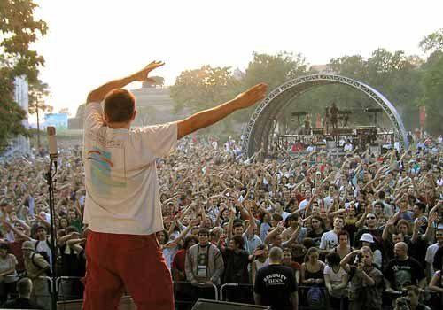 Festival EXIT à Novi Sad, Serbie