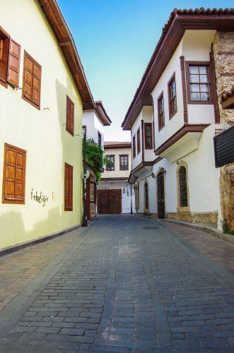 Kaleici, la vieille ville d'Antalya