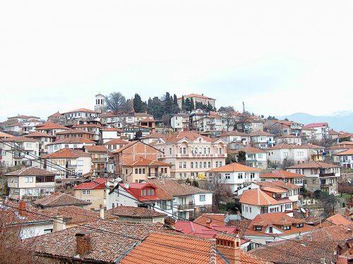 Vielle ville à Ohrid