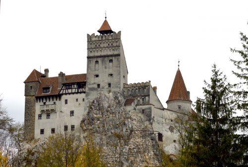 Château de Bran en Transylvanie