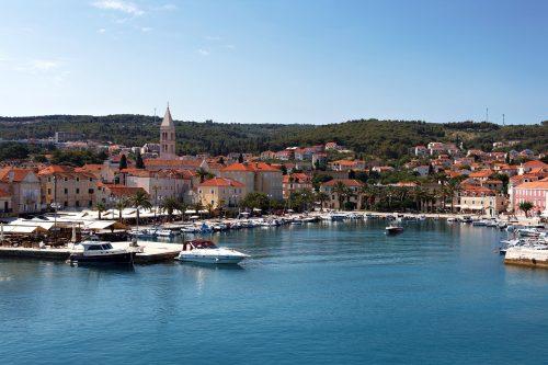 Hvar en Croatie