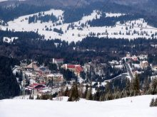 Poiana Brașov, la station de ski à petits prix