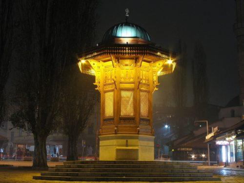 Baščaršija à Sarajevo