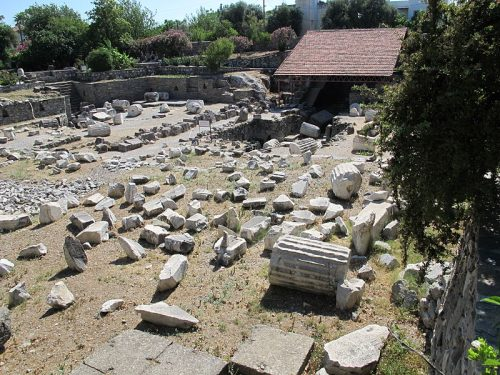 Mausolée d'Halicarnasse à Bodrum