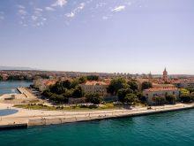 Soirée du réveillon du Nouvel An 2012 à Zadar