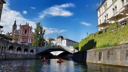 Ljubljana, accueillante chaleureuse