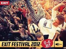 Exit 2012 à Novi Sad du 12 au 15 juillet