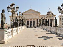 Visiter Skopje à pied