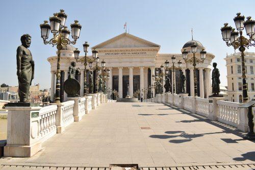 Place à Skopje