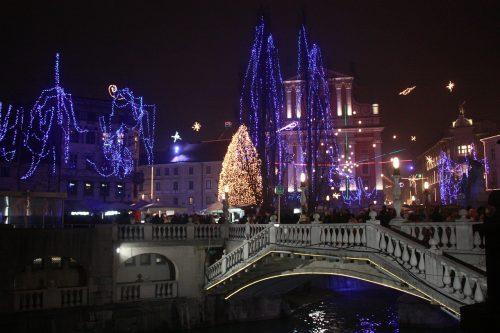 Ljubljana en décembre