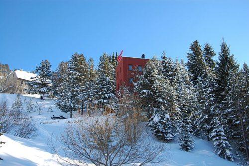 Station de ski de Brezovica au Kosovo