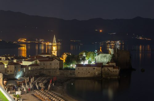 Budva, Nouvel An 2013