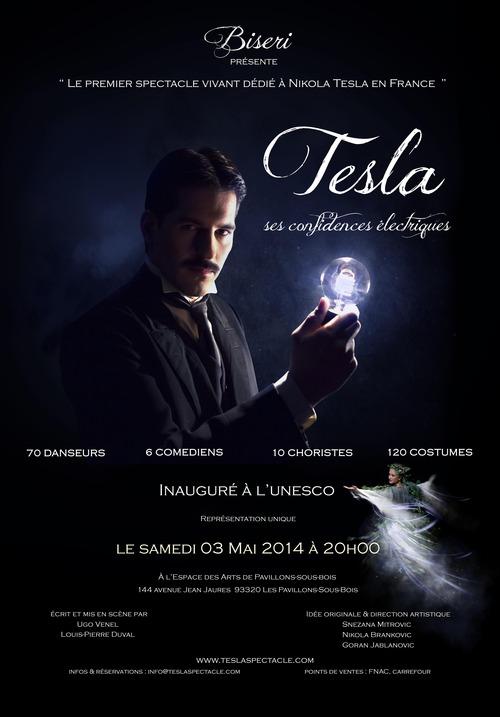 Spectacle sur Nikola Tesla
