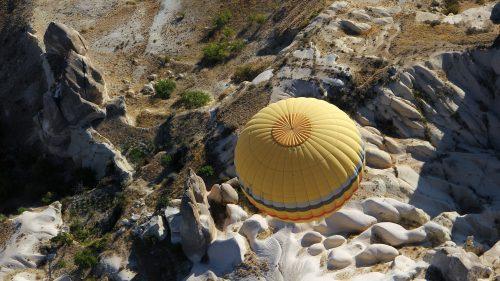 Tour en montgolfière en Cappadoce
