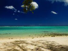 Plage à l'Île Maurice