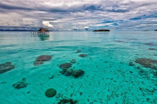 Plage en Indonésie