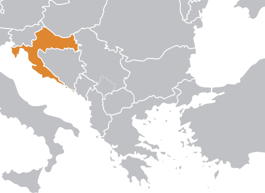 Balkan Countries Map Allo Balkans - Croatia interactive map